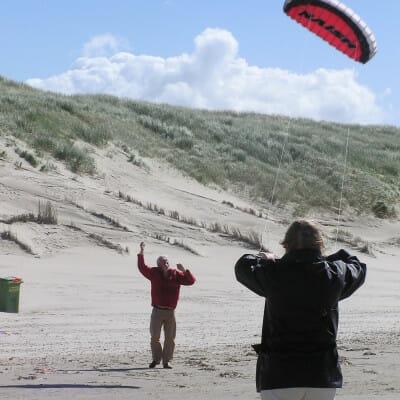vliegeren uitje noord holland
