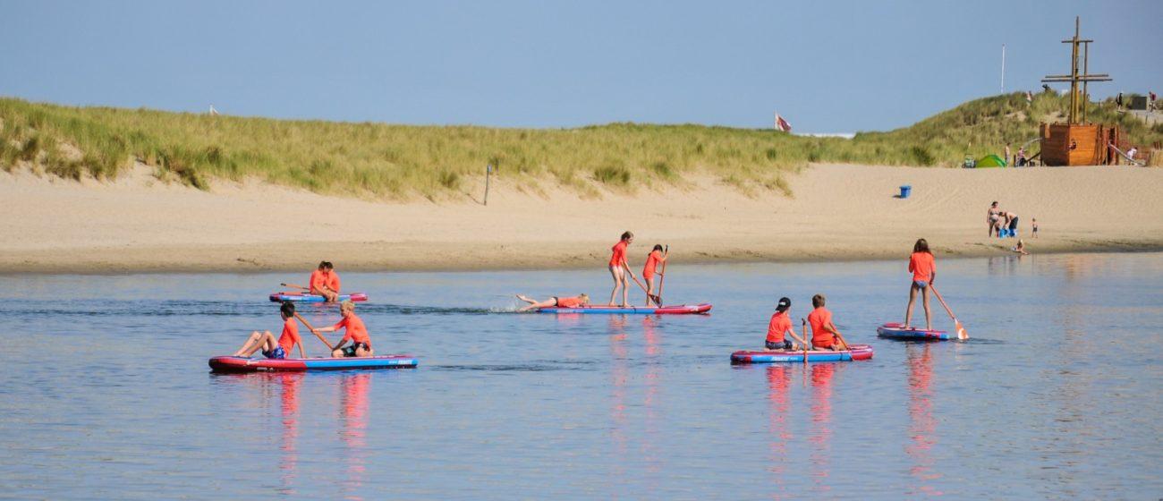 Strandkamp Noord Holland